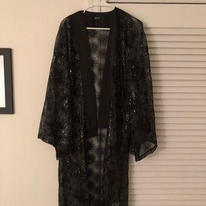 Nasty Gal sequin kimono